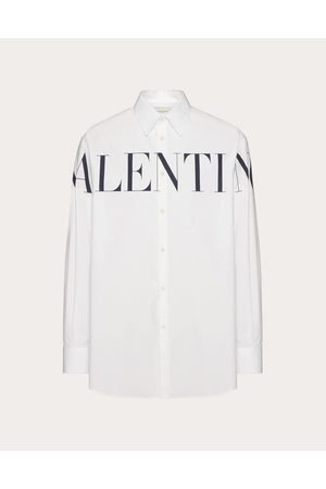 VALENTINO Men Shirts - Valentino Print Shirt Man / Cotton 100% 39