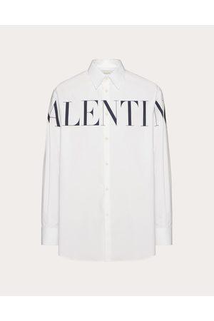VALENTINO Men Shirts - Valentino Print Shirt Man / Cotton 100% 39