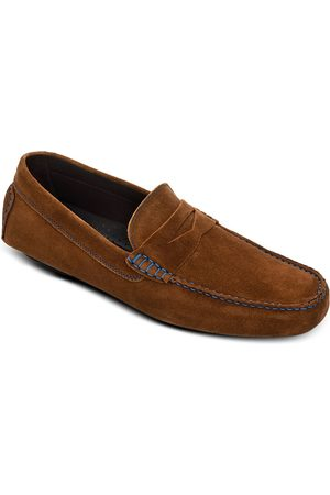 To Boot Men Loafers - Men's Suede Penny Drivers