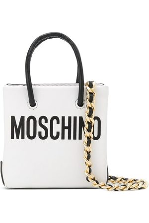 Moschino Mini logo-print crossbody bag