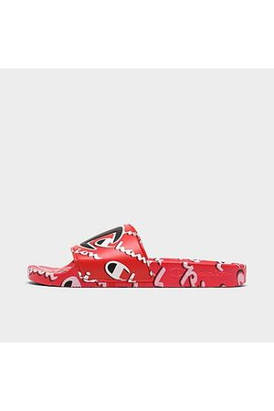 Champion IPO Mega Script Slide Sandals in Size 8.0