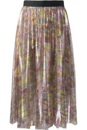 Emilio Pucci Sequin pleated skirt - Multicolour