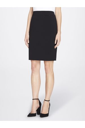 Tahari ASL Women Skirts - Wide-Banded Skirt Size: 10