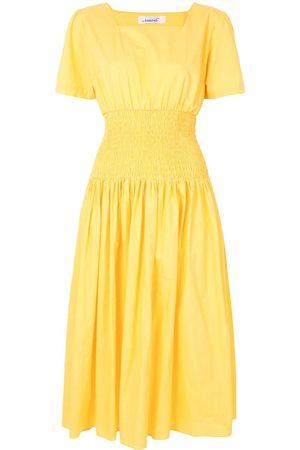 Bambah Poplin elasticated dress