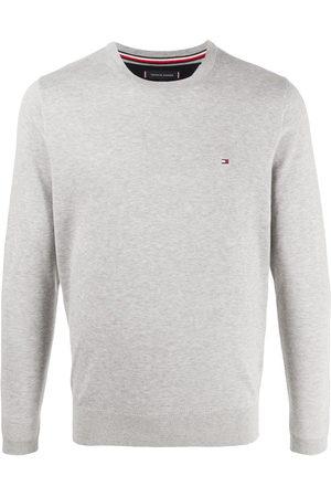 adidas Logo patch jumper - Grey