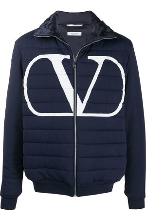 VALENTINO VLOGO quilted puffer jacket