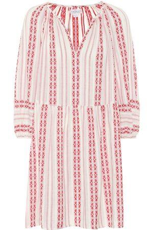 Velvet Nona striped cotton dress