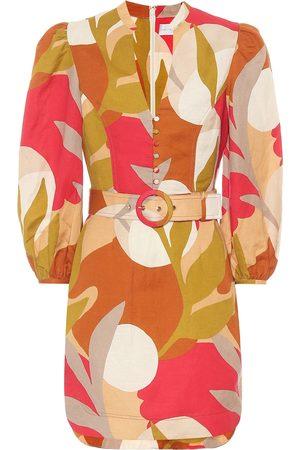 Rebecca Vallance Sangria printed minidress