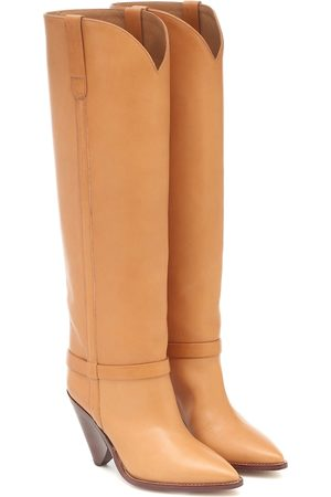Isabel Marant Lenskee leather knee-high boots