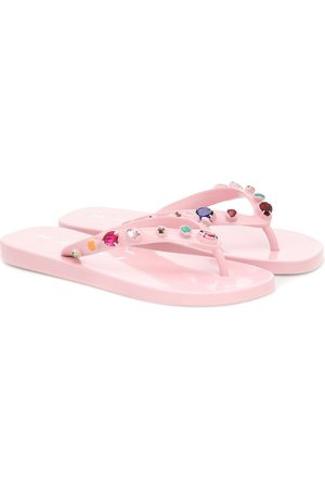 Marni Embellished thong sandals