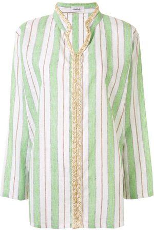 Bambah Striped V-neck shirt