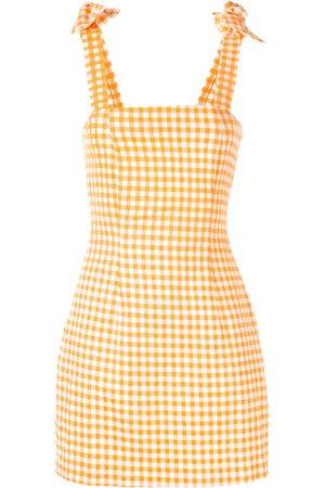 Bambah Women Party Dresses - Gingham bow mini dress