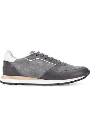 Brunello Cucinelli Suede low-top sneakers - Grey