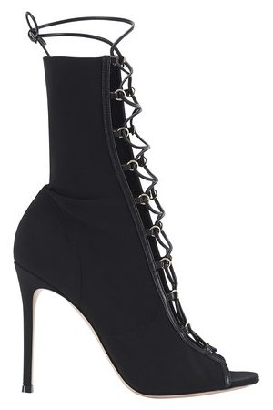 Gianvito Rossi Women Heeled Boots - Laced heeled booties