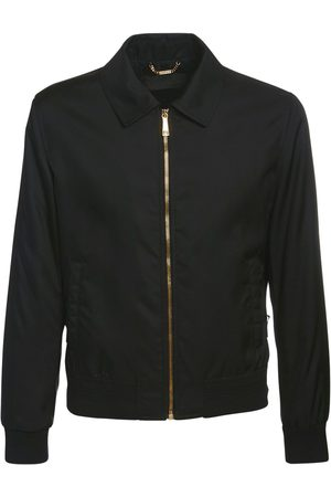 VERSACE Nylon Casual Jacket