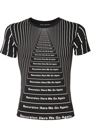 Paco rabanne All Over Print Cotton T-shirt