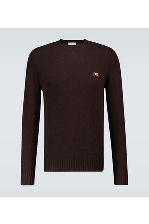 Etro Multi-yarn crewneck sweater