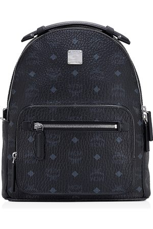 MCM Women Purses - New Stark Small Logo Backpack