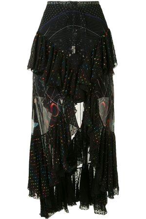 Camilla Midnight Moon double frill maxi dress