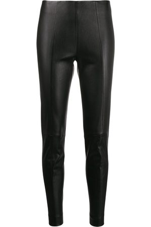 Bally Women Leather Pants - Slim leather trousers