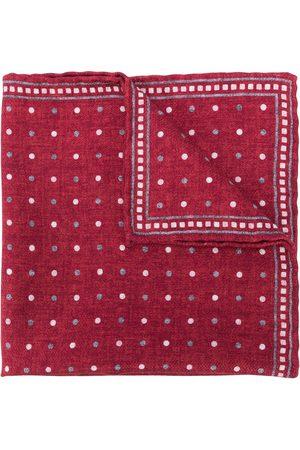 Brunello Cucinelli Men Scarves - Polka-dot silk scarf