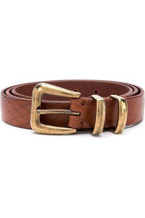 Brunello Cucinelli Textured belt