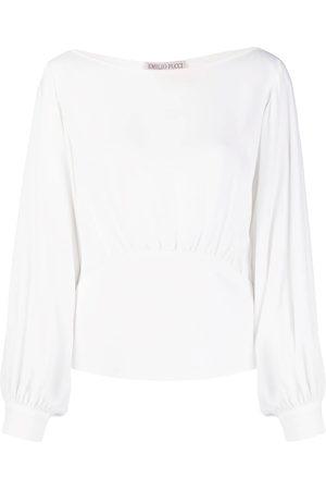 Emilio Pucci Women Blouses - Balloon sleeve blouse