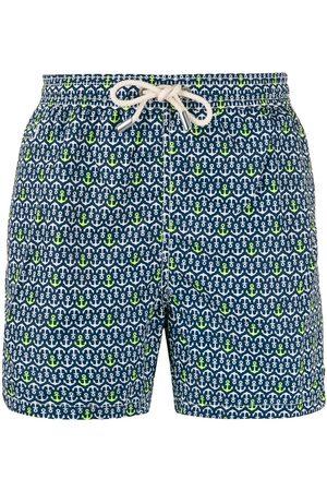 MC2 SAINT BARTH Sailor print swim shorts