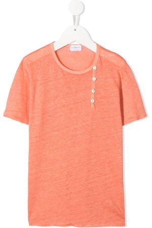 Violeta e Federico Girls Short Sleeve - Linen short sleeve T-shirt