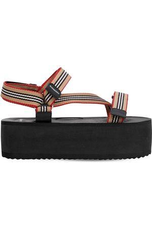 Burberry 60mm Patterson Nylon Sandals