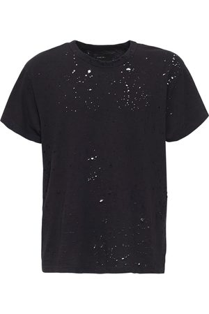 AMIRI Destroyed Cotton T-shirt