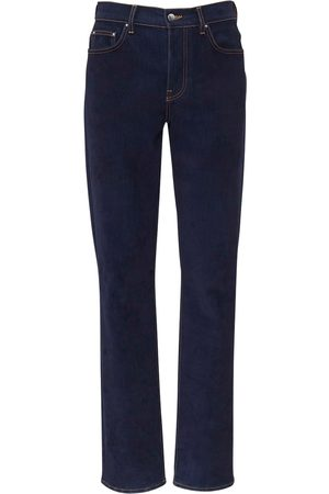 AMIRI 19cm Relaxed Velvet Cotton Denim Jeans