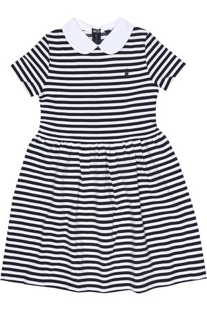 Ralph Lauren Striped stretch-cotton dress