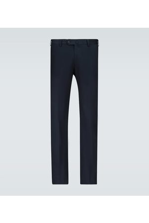 Loro Piana Slim-fit cotton pants