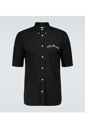 Alexander McQueen McQueen Script Brad Pitt shirt
