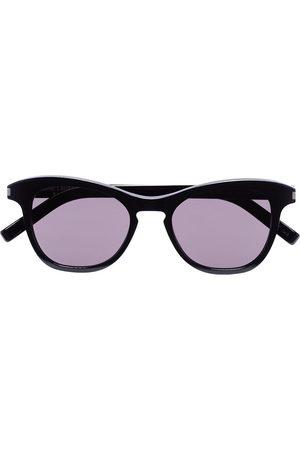 Saint Laurent Women Round - Havana round lens sunglasses