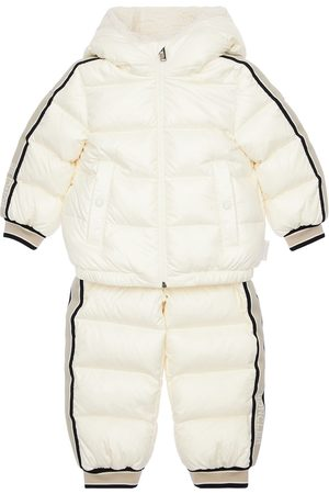 Moncler Nylon Laqué Down Jacket & Pants