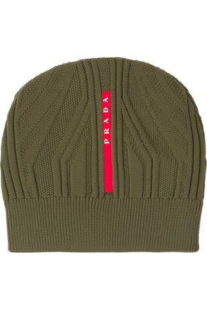 Prada Technical knit beanie