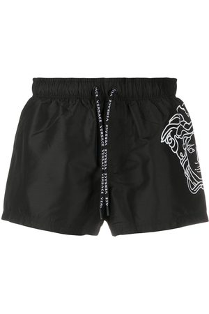 VERSACE Medusa print swim shorts