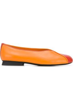 Camper Women Ballerinas - TWS contrast-panel ballerina shoes