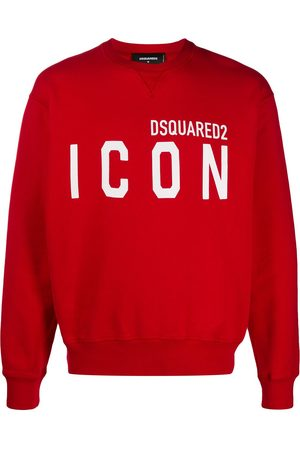 Dsquared2 Large Icon slogan cotton sweatshirt