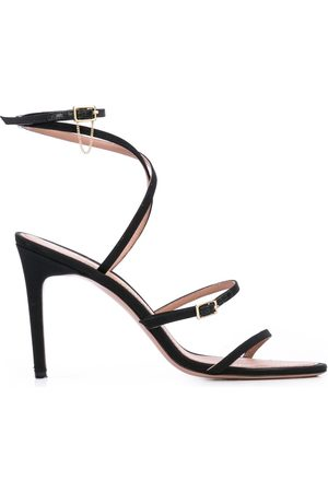 Oscar de la Renta Ruby asymmetric 90mm sandals
