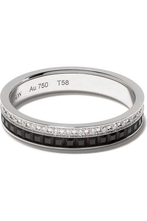 Boucheron 18kt Quatre Black Edition black PVD diamond wedding band