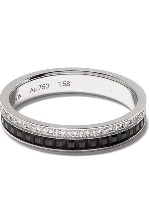 Boucheron Rings - 18kt Quatre Black Edition black PVD diamond wedding band