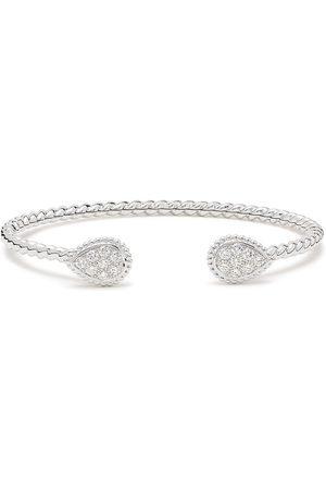 Boucheron 18kt white gold Serpent Boheme 2 S motifs WG diamond cuff