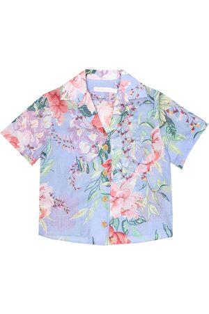 ZIMMERMANN Bellitude floral cotton shirt