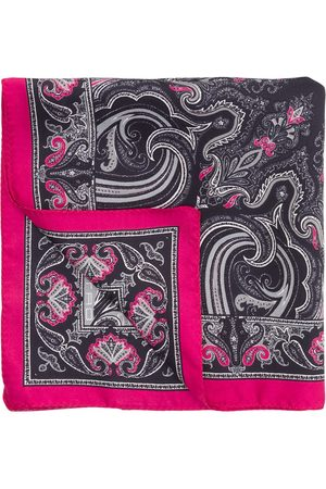 Etro Geometric paisley print scarf