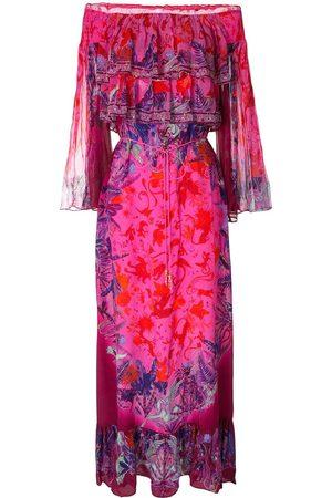 Camilla Tropic of Neon tiered ruffle maxi dress - Multicolour