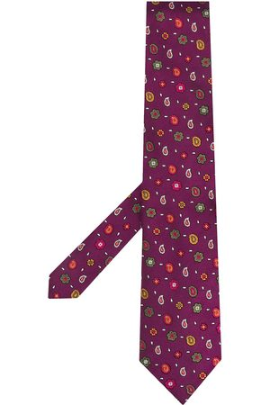 Etro Men Bow Ties - Micro Paisley silk tie
