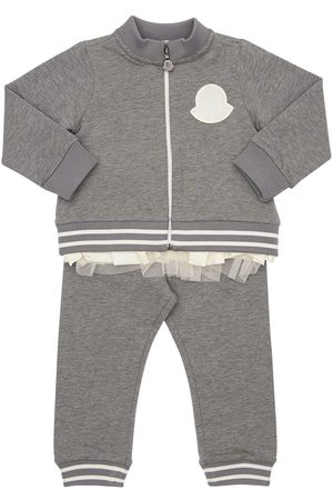 Moncler Cotton Sweatshirt & Sweat Pants